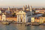 Skyline from Above with Gesuati in Front. Venice. Italy Photographic Print by Tom Norring