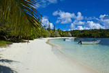White Sand Beach, Bay De Kanumera, Ile Des Pins, New Caledonia, Melanesia, South Pacific Photographic Print by Michael Runkel
