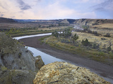 Wind Canyon, Theodore Roosevelt National Park, North Dakota Photographic Print by Tim Fitzharris