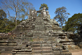 Preah Pithu Temple Group, Angkor Thom, Angkor World Heritage Site, Siem Reap, Cambodia Photographic Print by David Wall