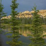 Miette Range and Talbot Lake, Jasper National Park, Alberta, Canada Photographic Print by Tim Fitzharris