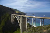 Bixby Creek Bridge, Pacific Coast Highway, Big Sur, Central Coast, California, Usa Photographic Print by David Wall