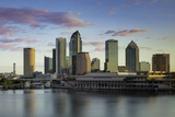 Dawn over the Skyline of Tampa, Florida, Usa Photographic Print by Brian Jannsen