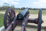Virginia, Yorktown, Cannon on Battlefield Photographic Print by Jim Engelbrecht