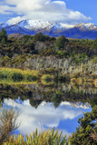 Lake Mistletoe on the Road from Te Anau to Milford Sound, South Island, New Zealand Reproduction photographique par Paul Dymond