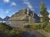 Crowfoot Mountain, Bow Lake, Banff National Park, Alberta Photographic Print by Tim Fitzharris