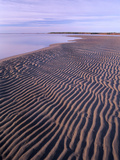 Ripples in the Sand, Kouchibouguac National Park, New Brunswick, Canada Photographic Print by Tim Fitzharris