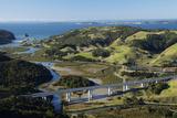 Waiwera Viaduct and Waiwera River, North Auckland, North Island, New Zealand Photographic Print by David Wall