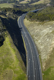 Northern Gateway Toll Road, State Highway One, North Island, New Zealand Photographic Print by David Wall