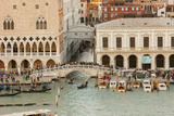 Skyline with Bridge of Sighs. Venice. Italy Photographic Print by Tom Norring
