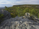 View from Palisades Overlook, Petit Jean State Park, Arkansas, Usa Photographic Print by Tim Fitzharris