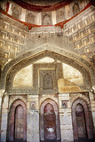 Decorations Inside Ancient Sheesh Shish Gumbad Tomb Lodi Gardens, New Delhi, India Photographic Print by William Perry