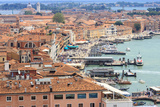 Waterfront Seen from the Top of the Campanile. Venice. Italy Photographic Print by Tom Norring