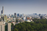 Vietnam, Ho Chi Minh City. Elevated Skyline View Photographic Print by Walter Bibikow