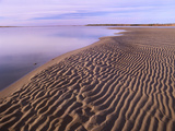 Rippled Sand, Kouchibouguac National Park, New Brunswick, Canada Photographic Print by Tim Fitzharris