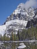Mount Huber, Yoho National Park, British Columbia, Canada Photographic Print by Tim Fitzharris