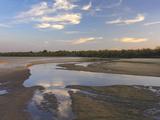 Cimarron River Cuts Through the Sandy Landscape, Oklahoma Photographic Print by Tim Fitzharris