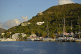 British Virgin Islands, Tortola. Boats at the Marina in West End Photographic Print by Kevin Oke