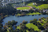 Western Springs, and Western Springs Stadium, Auckland, North Island, New Zealand Photographic Print by David Wall