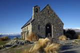 Church of the Good Shepherd, Lake Tekapo, Mackenzie Country, South Island, New Zealand Photographic Print by David Wall