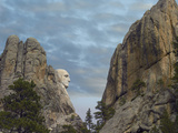 George Washington's Face at Mount Rushmore National Memorial, South Dakota Photographic Print by Tim Fitzharris