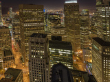 City View from the High Up, San Francisco, California, Usa Photographic Print by Chuck Haney