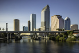 Hillsborough River and the Skyline of Tampa, Florida, Usa Photographic Print by Brian Jannsen