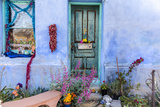 Colorful Doorway in the Barrio Viejo District of Tucson, Arizona, Usa Photographic Print by Chuck Haney