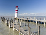 Podersdorf Am See on the Shore of Lake Neusiedl. Burgenland, Austria Photographic Print by Martin Zwick