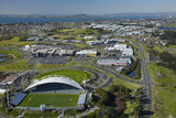 North Harbour Stadium, Albany, Auckland, North Island, New Zealand Photographic Print by David Wall