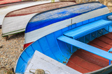 Macedonia, Ohrid, Close Up of Boats on the Shore of Lake Ohrid Photographic Print by Emily Wilson