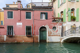 Bridge over Canal. Venice. Italy Photographic Print by Tom Norring
