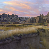 Rock Formations of Badlands National Park, South Dakota Photographic Print by Tim Fitzharris
