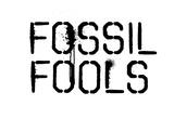 Fossil Fools- Black Stencil Posters