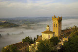 Sunrise over San Miniato, Tuscany, Italy Photographic Print by Brian Jannsen