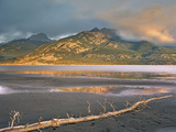 Jacques Range, Jasper Lake, Jasper National Park, Alberta, Canada Photographic Print by Tim Fitzharris