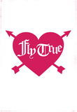 Fly True- Rouge Affischer