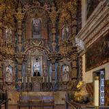 Mission San Xavier in Tucson, Arizona, Usa Stampa fotografica di Chuck Haney