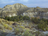 Badlands South Unit, Theodore Roosevelt National Park, North Dakota Photographic Print by Tim Fitzharris