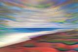 Warm Beach Fotografisk trykk av Ursula Abresch