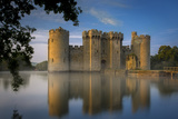 Dawn at Bodiam Castle, Bodiam, Robertsbridge, East Sussex, England Photographic Print by Brian Jannsen