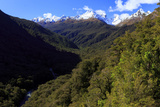 Expansive Landscape on the Road from Te Anau to Milford Sound, New Zealand Reproduction photographique par Paul Dymond