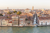 Skyline from Above Lagoon. Venice. Italy Photographic Print by Tom Norring