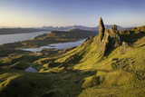 Dawn at the Old Man of Storr, Trotternish Peninsula, Isle of Skye, Scotland Photographic Print by Brian Jannsen