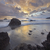 Sunset Light on the Clouds over the Ocean, Manuel Antonio National Park, Costa Rica Photographic Print by Tim Fitzharris