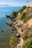 Cliffs of Talamone, Talamone, Grosseto Province, Maremma, Tuscany, Italy Photographic Print by Nico Tondini