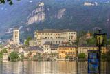 Isola San Giulio. San Giulio Island. Lake Orta. Piedmont, Italy Photographic Print by Tom Norring