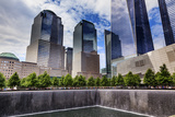 World Trade Center Memorial Pool Fountain, New York, Ny Photographic Print by William Perry