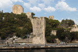 Panorama. Old Fort Along the Bosphorus Coast. Istanbul. Turkey Photographic Print by Tom Norring