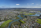 Whau River, Avondale, Auckland, North Island, New Zealand Photographic Print by David Wall